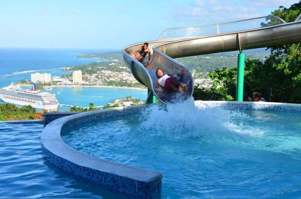 Mystic Mountain Waterslide